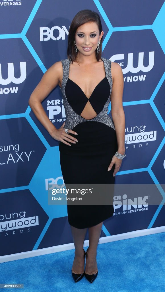 TV personality/dancer <a gi-track='captionPersonalityLinkClicked' href=/galleries/search?phrase=Cheryl+Burke&family=editorial&specificpeople=540289 ng-click='$event.stopPropagation()'>Cheryl Burke</a> attends the 16th Annual Young Hollywood Awards at The Wiltern on July 27, 2014 in Los Angeles, California.