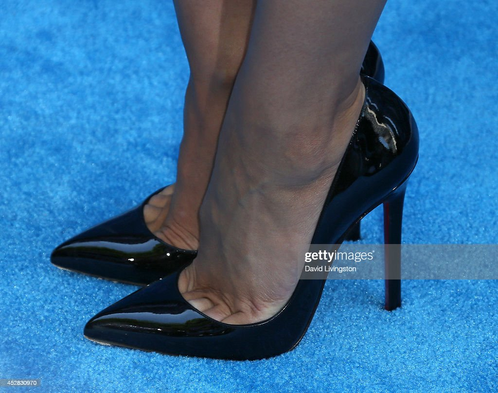 TV personality/dancer Cheryl Burke (shoe detail) attends the 16th Annual Young Hollywood Awards at The Wiltern on July 27, 2014 in Los Angeles, California.