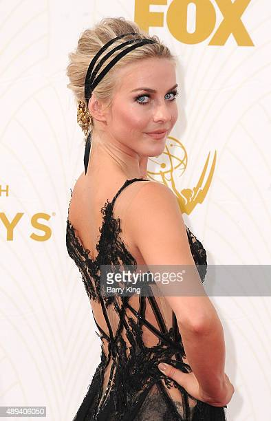 TV personality/dancer Julianne Hough arrives at the 67th Annual Primetime Emmy Awards at the Microsoft Theater on September 20 2015 in Los Angeles...
