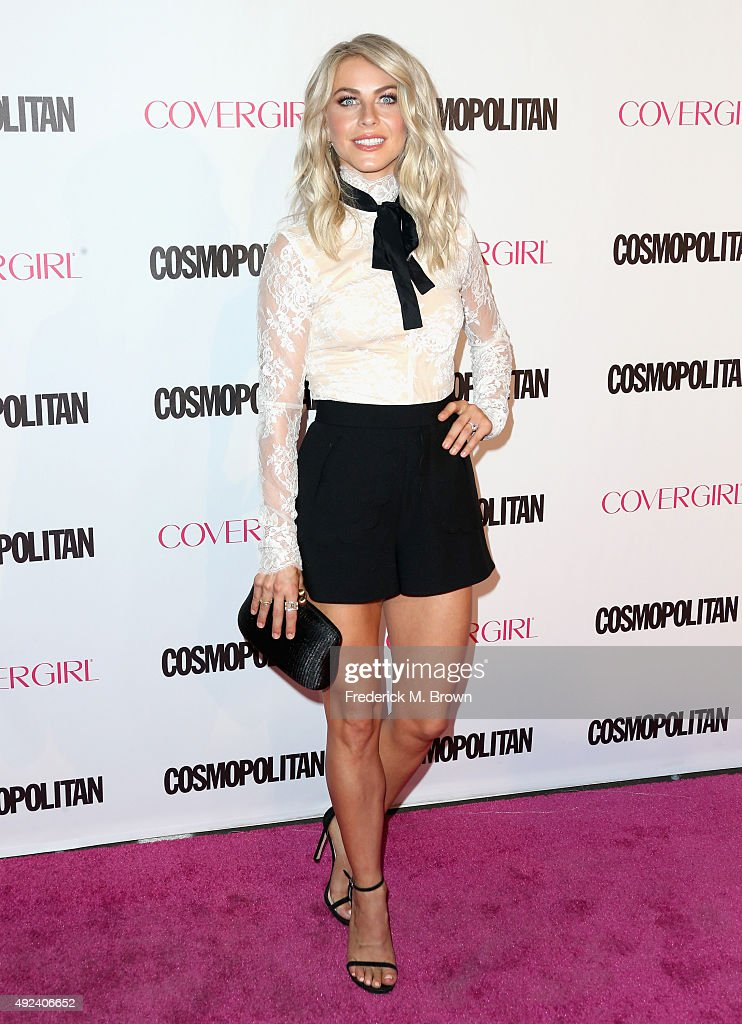 TV personality/dancer Julianne Hough attends Cosmopolitan's 50th Birthday Celebration at Ysabel on October 12 2015 in West Hollywood California