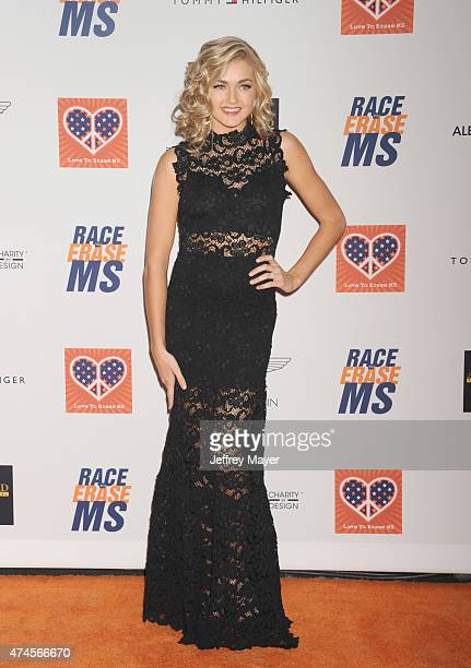 TV personality/dancer Lindsay Arnold arrives at the 22nd Annual Race To Erase MS at the Hyatt Regency Century Plaza on April 24 2015 in Century City...