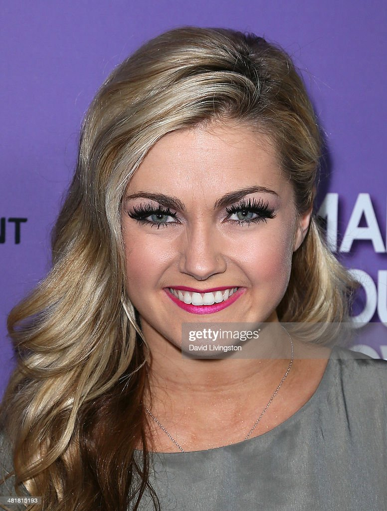 TV personality/dancer Lindsay Arnold attends a screening of 'Make Your Move' at Pacific Theatre at The Grove on March 31, 2014 in Los Angeles, California.