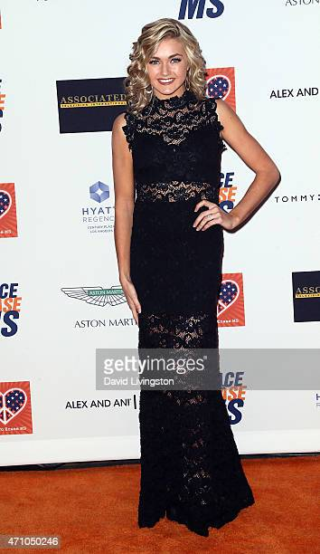 TV personality/dancer Lindsay Arnold attends the 22nd Annual Race to Erase MS event at the Hyatt Regency Century Plaza on April 24 2015 in Century...