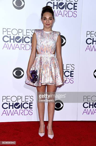 TV personality/dancer Maddie Ziegler attends the People's Choice Awards 2016 at Microsoft Theater on January 6 2016 in Los Angeles California