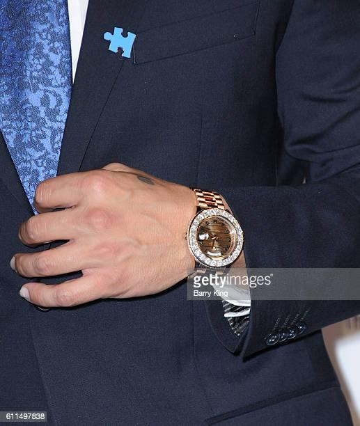 TV personality/DJ Pauly D aka Paul DelVecchio watch detail attends Metropolitan Fashion Week 2016 La Vie En Bleu Signature event benefiting Autism...