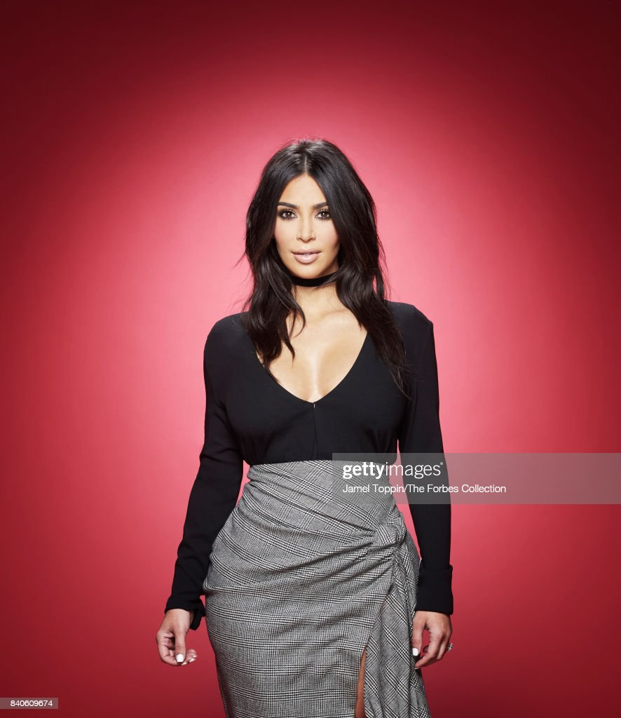 TV personality/entrepreneur, Kim Kardashian is photographed for Forbes Magazine in May 2016 in New York City. PUBLISHED IMAGE.