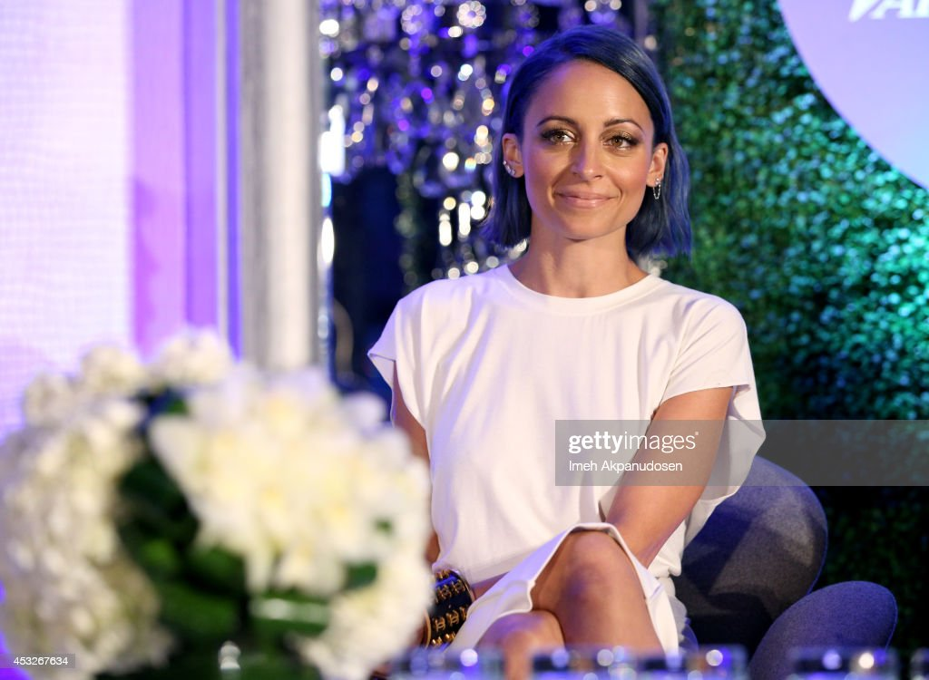 TV personality/executive producer <a gi-track='captionPersonalityLinkClicked' href=/galleries/search?phrase=Nicole+Richie&family=editorial&specificpeople=201646 ng-click='$event.stopPropagation()'>Nicole Richie</a> speaks onstage at the 'TV's Creative Trailblazers' panel during Tune In! Variety's TV Summit at Intercontinental Century City on August 6, 2014 in Century City, California.