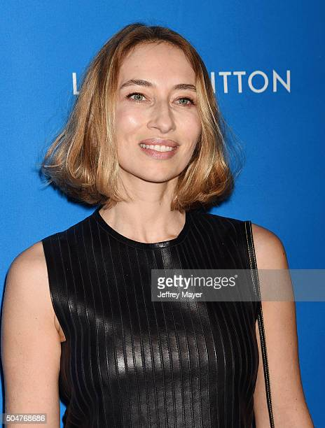 TV personality/journalist Alexandra Golovanoff arrives at the 6th Biennial UNICEF Ball at the Beverly Wilshire Four Seasons Hotel on January 12 2016...