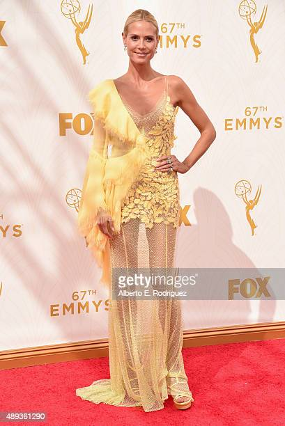 TV personality/model Heidi Klum attends the 67th Emmy Awards at Microsoft Theater on September 20 2015 in Los Angeles California 25720_001