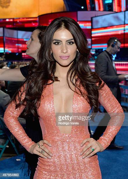TV personality/model Jessica Cediel attends the 16th Latin GRAMMY Awards at the MGM Grand Garden Arena on November 19 2015 in Las Vegas Nevada