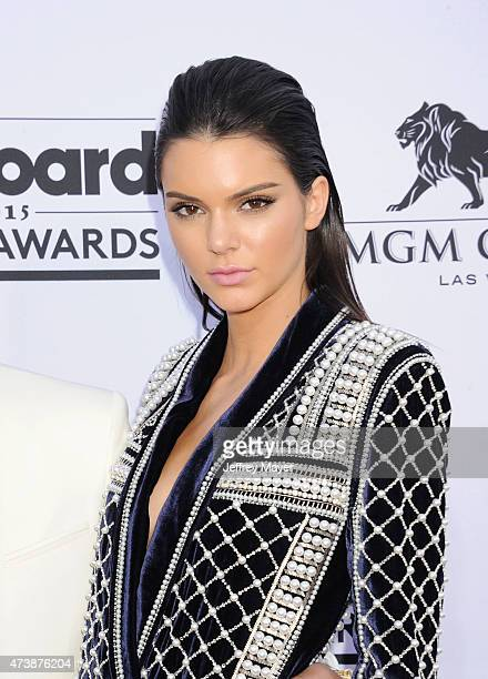 TV personality/model Kendall Jenner arrives at the 2015 Billboard Music Awards at the MGM Grand Garden Arena on May 17 2015 in Las Vegas Nevada