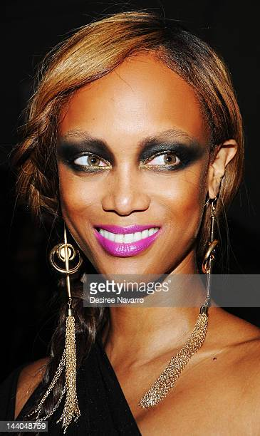 Personality/model Tyra Banks attends the 2012 Moth Ball at Capitale on May 8 2012 in New York City