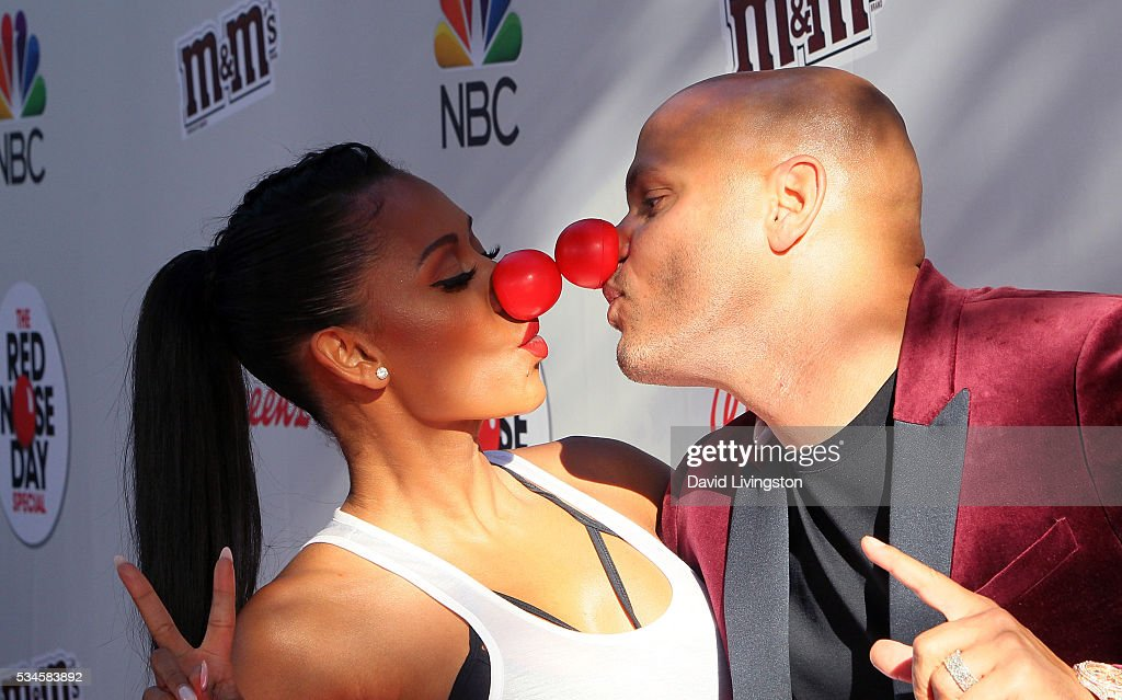 TV personality/singer Mel B (L) and husband producer <a gi-track='captionPersonalityLinkClicked' href=/galleries/search?phrase=Stephen+Belafonte&family=editorial&specificpeople=4361206 ng-click='$event.stopPropagation()'>Stephen Belafonte</a> attend the Red Nose Day Special on NBC at the Alfred Hitchcock Theater at Alfred Hitchcock Theater at Universal Studios on May 26, 2016 in Universal City, California.