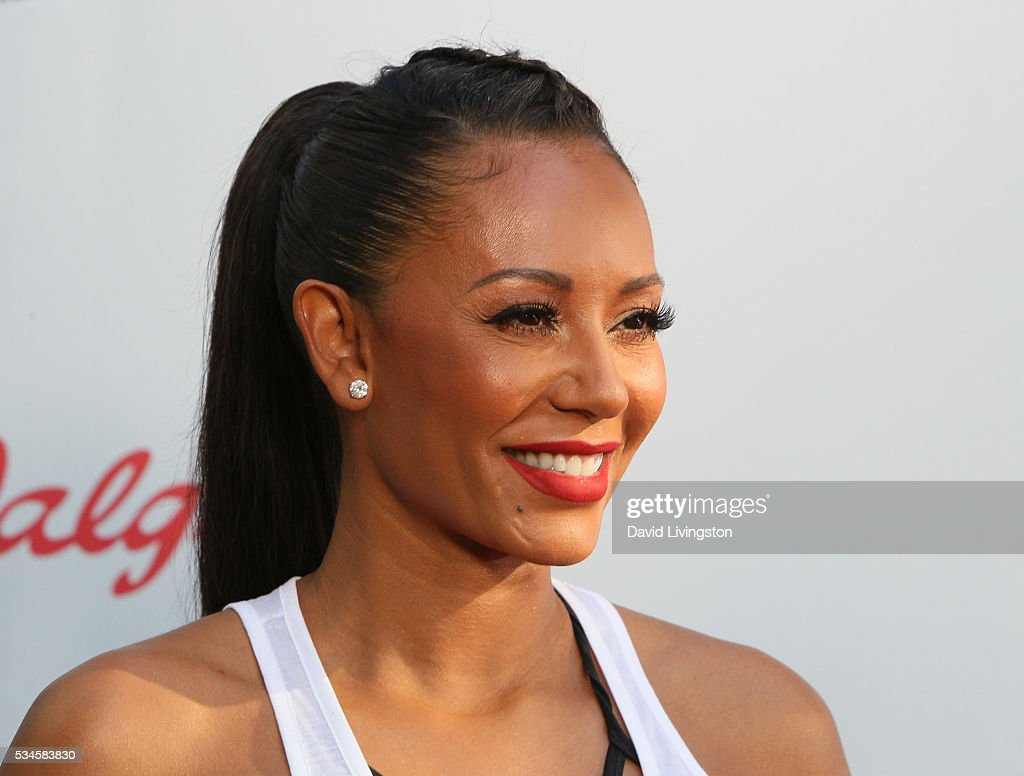 TV personality/singer Mel B attends the Red Nose Day Special on NBC at the Alfred Hitchcock Theater at Alfred Hitchcock Theater at Universal Studios on May 26, 2016 in Universal City, California.