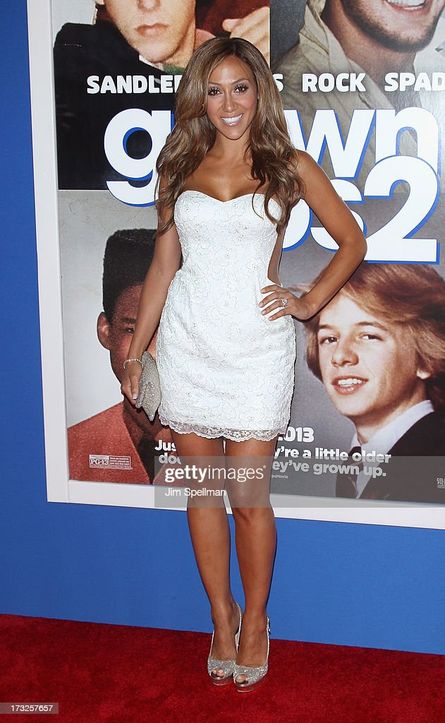 TV Personality/singer Melissa Gorga attends the 'Grown Ups 2' New York Premiere at AMC Lincoln Square Theater on July 10, 2013 in New York City.