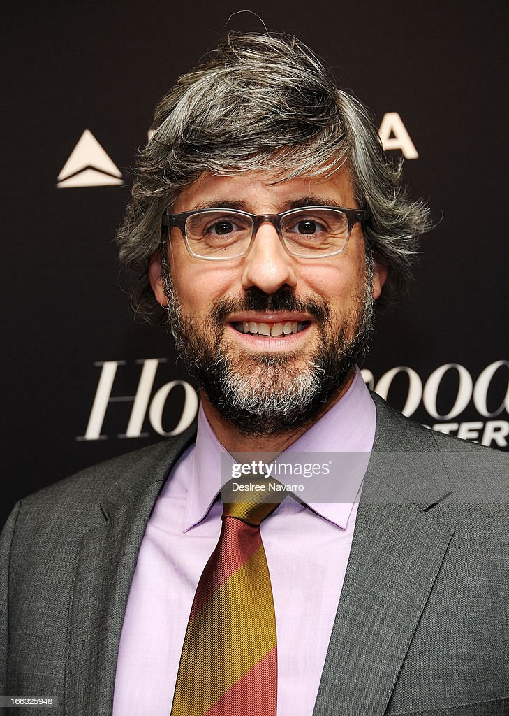 Personality/writer Mo Rocca attends The Hollywood Reporters 35 Most Powerful People In Media at Four Seasons Grill Room on April 10 2013 in New York...