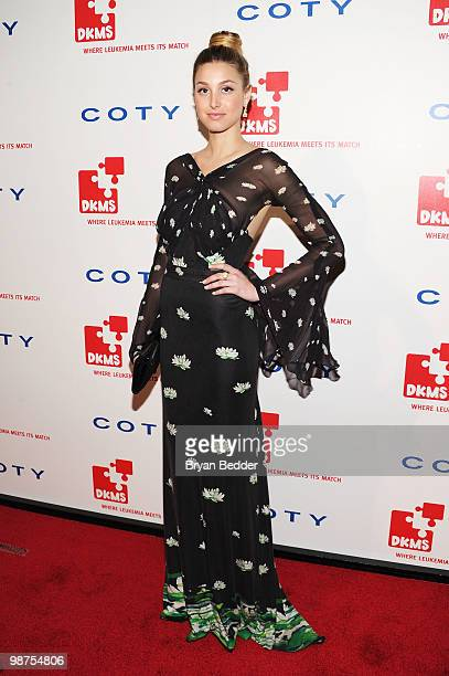 TV personaltiy Whitney Port attends DKMS' 4th Annual Gala Linked Against Leukemia at Cipriani 42nd Street on April 29 2010 in New York City