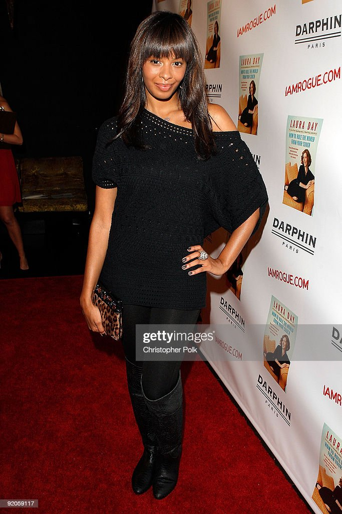 TV personlaity Vanessa Simmons arrives at the celebration for Laura Day�s new book �How to Rule the World from Your Couch� hosted by Ryan Kavanaugh...