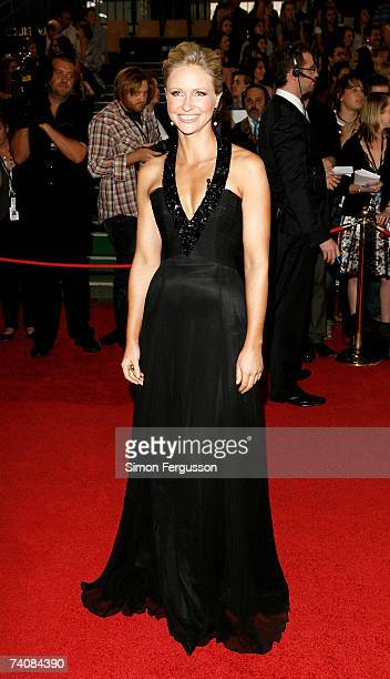TV personlity Livinia Nixon attends the 2007 TV Week Logie Awards at the Crown Casino on May 6 2007 in Melbourne Australia The annual television...