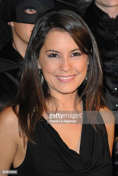 Personnality Marion Jolles attends the 'Zoro' Gala Premiere at Folies Bergeres on November 5 2009 in Paris France