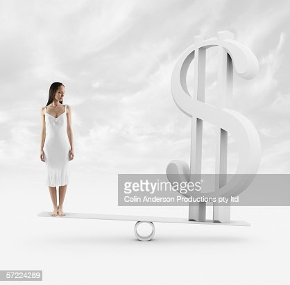 A persons financial worth : Stockfoto