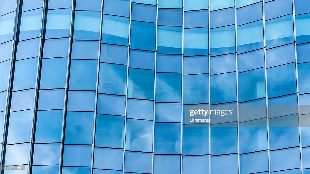 Perspective and underside angle view to textured background of c : Bildbanksbilder