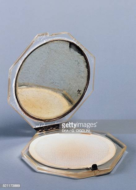 Perspex powder compact 1950 Italy 20th century Italy