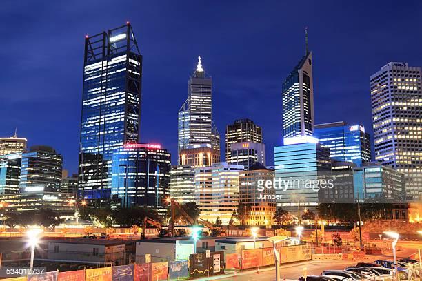 Perth city buildings, Western Australia