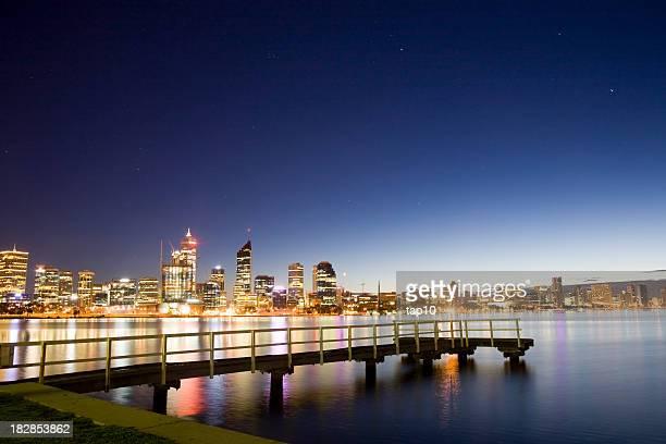 Perth escena de la ciudad