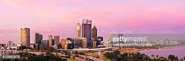 Perth City Skyline