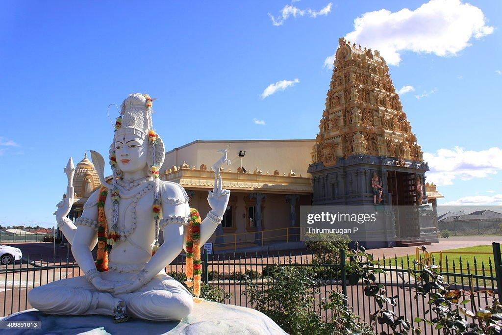 Perth Hindu Temple : Stock Photo