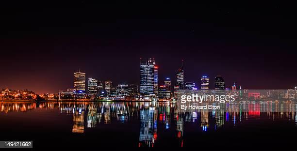 Perth on still winter night