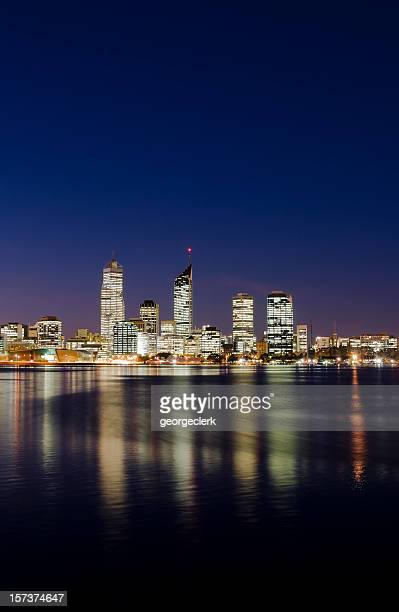Perth Skyline with Copy Space