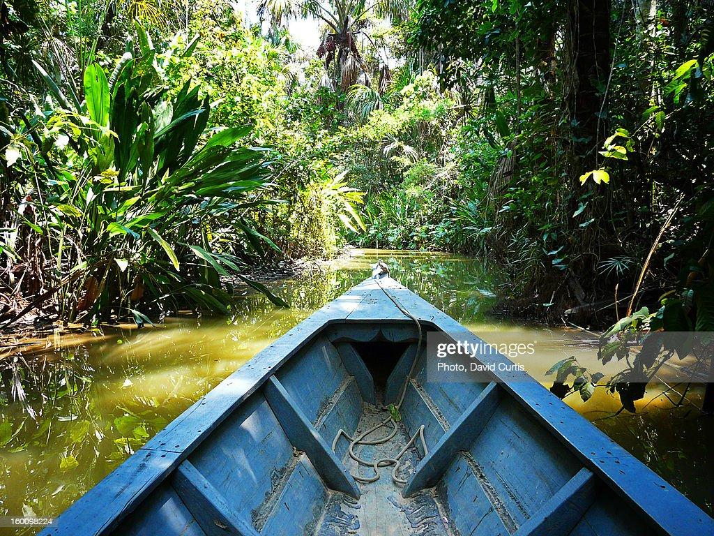 Peru Amazon Boat