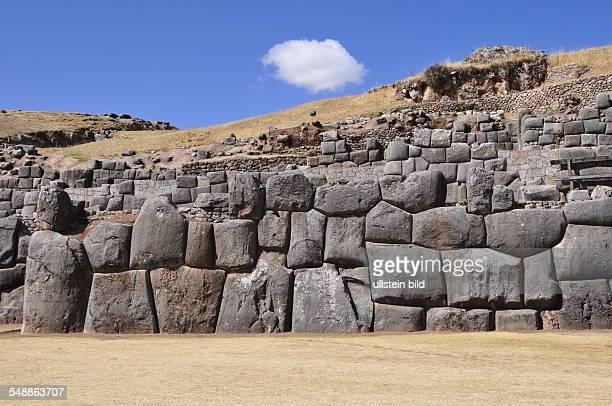 Peru Cusco Cusco Fortress 'Sacsayhuaman'
