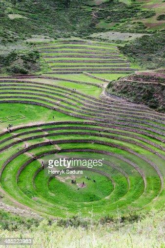 Peru, Cuzco, Moray, Incan ruins