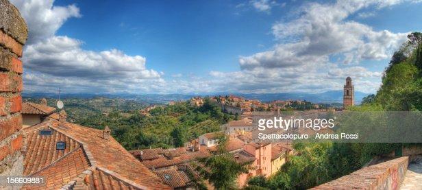 Perugia town : Stock Photo