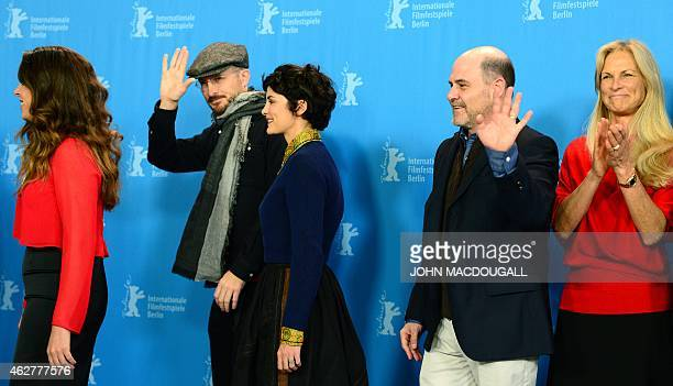 Peruvian director writer and producer Claudia Llosa US director and President of the Berlinale International Jury Darren Aronofsky French actress...