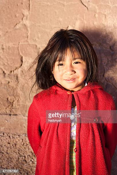 Menina Peruana, Chivay, Peru