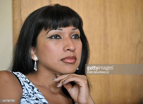 "Peruvian transgender Pilar Gonzalez who plays the troubleshooter sister ""La Pozo"" in the award winning short film by Peruvian filmmaker Claudia Llosa..."