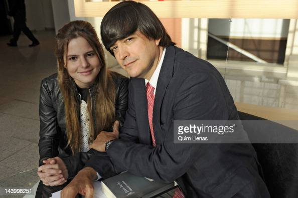 Peruvian writer Jaime Bayly and...