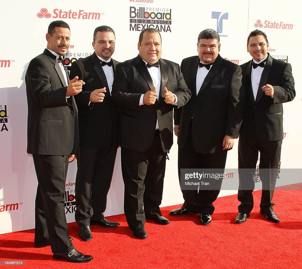 <a gi-track='captionPersonalityLinkClicked' href=/galleries/search?phrase=Pesado&family=editorial&specificpeople=2613713 ng-click='$event.stopPropagation()'>Pesado</a> arrive at the 2012 Billboard Mexican Music Awards held at The Shrine Auditorium on October 18, 2012 in Los Angeles, California.
