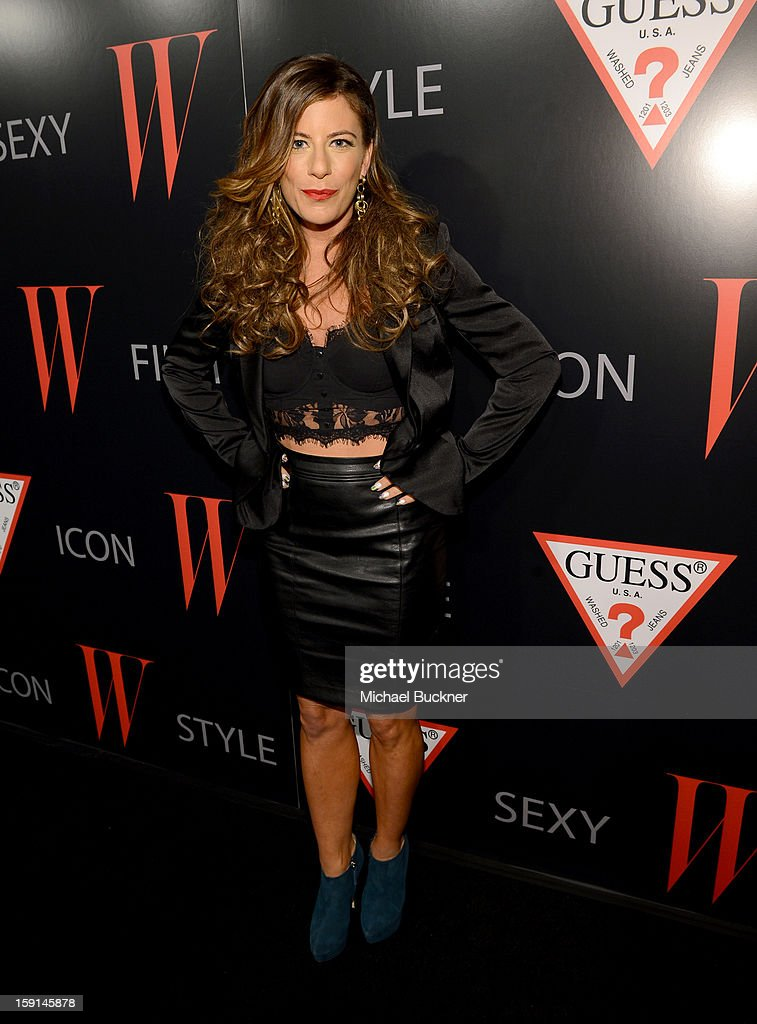DJ Pesce attends '30 Years Of Fashion And Film And The Next Generation Of Style Icons' with W Magazine and GUESS at Laurel Hardware on January 8, 2013 in West Hollywood, California.