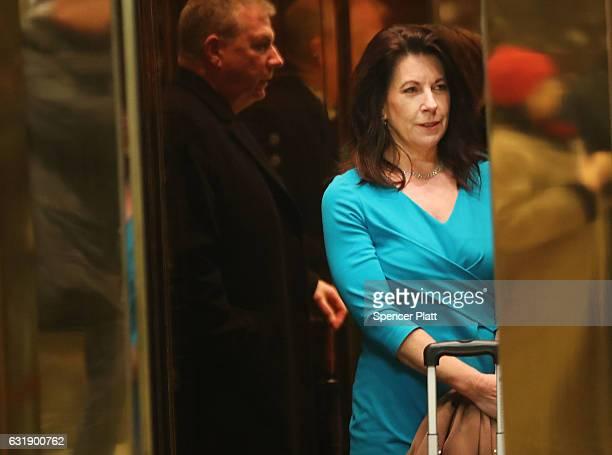 Donald Trump's attorney attorney Sheri Dillon arrives at Trump ...