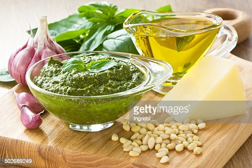 Pesto sause : Stock Photo