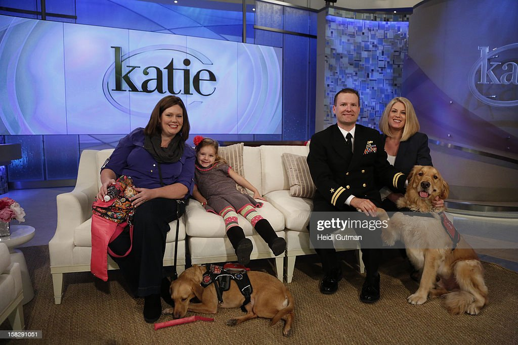 KATIE - Pet adoption and wonder dogs are showcased on KATIE, airing THURSDAY, DEC. 13, distributed by Disney-ABC Domestic Television. (Photo by Heidi Gutman/Disney-ABC via Getty Images) SARAH