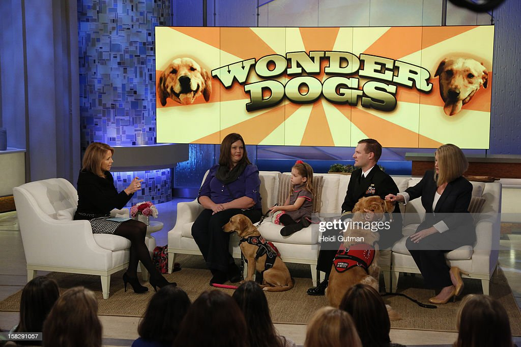 KATIE - Pet adoption and wonder dogs are showcased on KATIE, airing THURSDAY, DEC. 13, distributed by Disney-ABC Domestic Television. (Photo by Heidi Gutman/Disney-ABC via Getty Images) KATIE