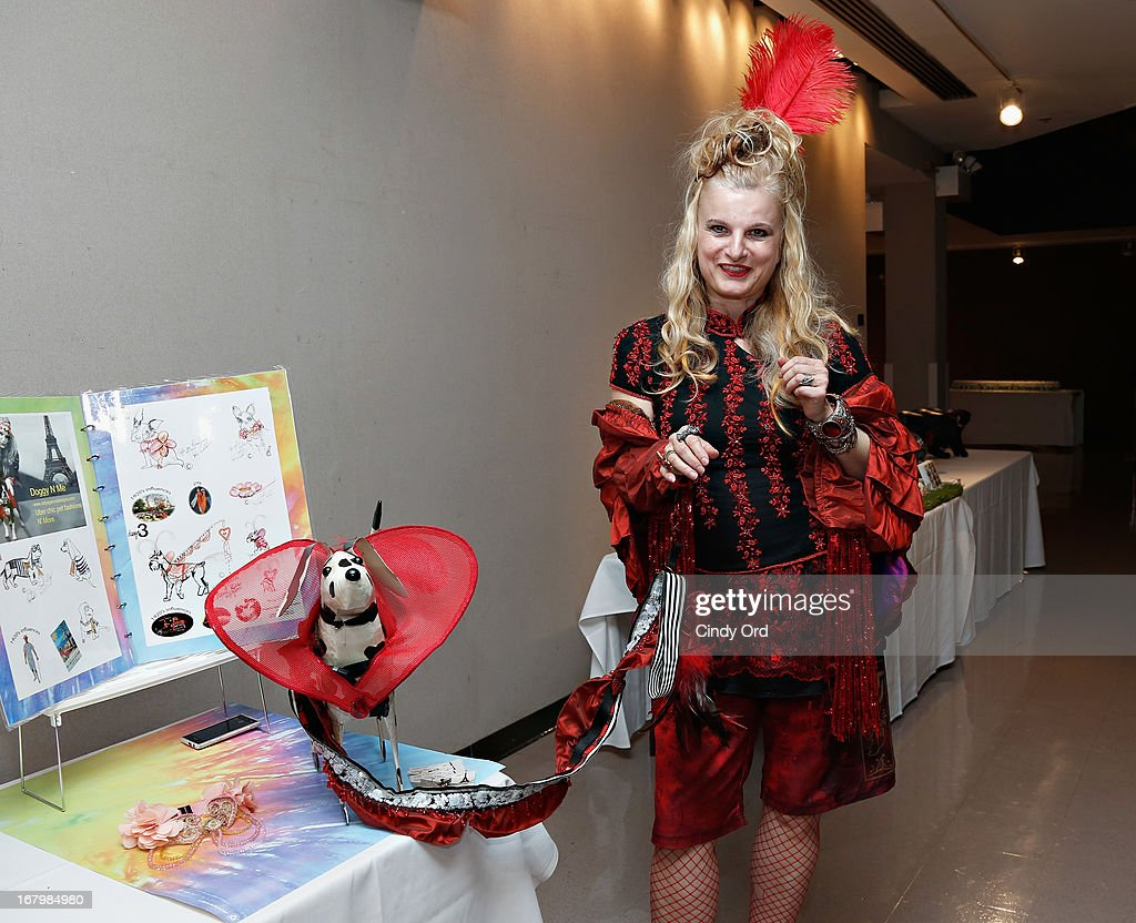 Pet apparel designer Coty Farkas attends FIT's Fifth Annual Pet Apparel and Accessories Fashion Show at The Fashion Institute of Technology on May 3, 2013 in New York City.