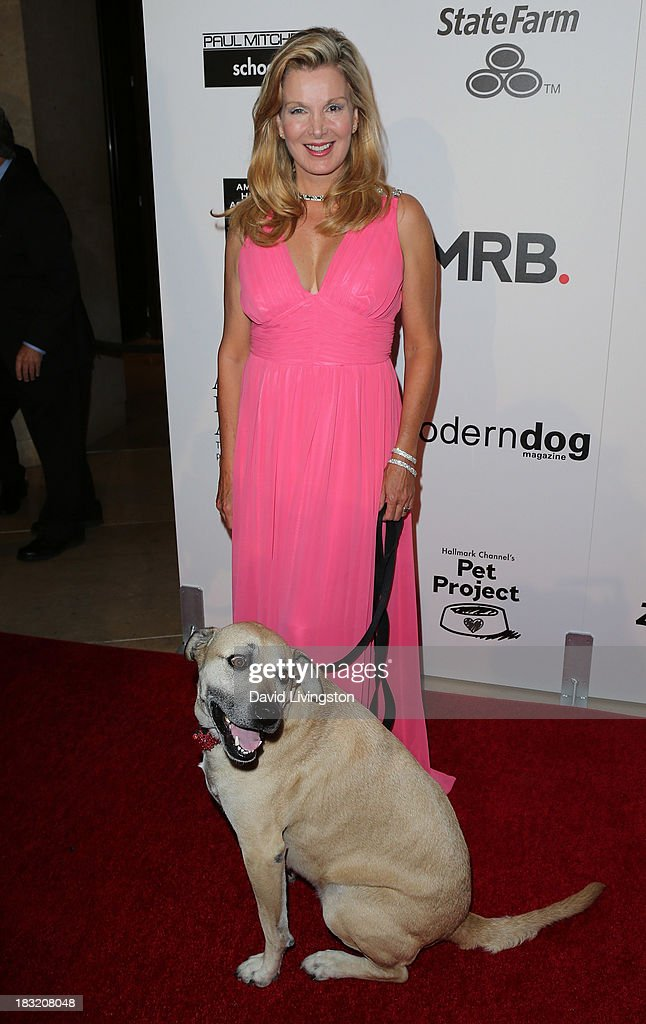 Pet lifestyle expert/actress Megan Blake attends the 3rd Annual American Humane Association Hero Dog Awards at The Beverly Hilton Hotel on October 5, 2013 in Beverly Hills, California.
