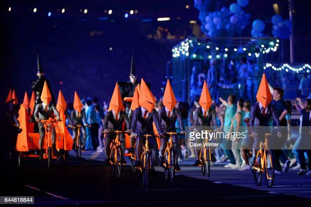 Pet Shop Boys Ceremonie de Cloture Jeux Olympiques Londres 2012 Photo Dave Winter / Icon Sport